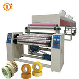 GL-1000C multifunction 4 rotary axis printed clear color bopp packing tape machinery