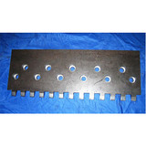 Down comb panel