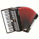 Parrot 34 Keys 80 Bass Piano Accordion With Case And Straps
