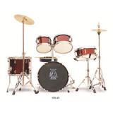 Full Size Complete Kid 5 Piece Drum Set