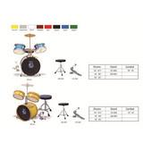 Full Size Adult kid 3 Piece Drum Set