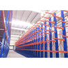 Steel metal warehouse shelving pipe rack system