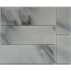 white marble tile 4''x12'' marble tile oriental white mosaic