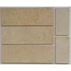 Cream Marfil 4''x12'' marble tile  subway tile
