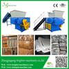 Industrial heavy duty waste paper cardboard shredding machine