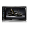 6.2 inch  In-dash 2 DIN  DVD/MP5 car player