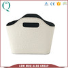 High Quality PU leather small storage baskets