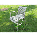 Aluminum Chair Stacking Outdoor Dining Chairs