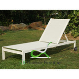 Pool Area Chaise Lounge Outdoor Fabric Sun Lounger