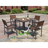 Poly Lumber Garden Furniture Polywood Dining Set