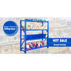 Logistic Central Removable Medium Duty Storage Rack Multi - Tier Steel Platform