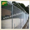 Africa marketing PVC Coated and galvanized anti climb airport Chain Link Fence