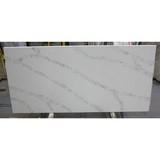 Ex-factory Price White Quartz Stone Slab, Quartz Stone Calacatta