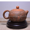 200ML Ceramic Tea Pot Half Gourd Tea Pot Handmade Tea Ware