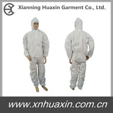 Hooded Microporous Coverall
