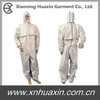 Disposable coverall with bounded seam