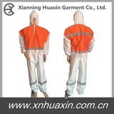 Highly visible coverall