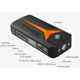 big capacity car jump starter 15000mAh built-in protection board V6
