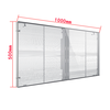 High transparent led screen for rental market
