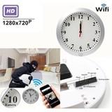T30 WIFI Hidden Wall Hang Clock Camera