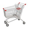150L European durable shopping trolley with child seat