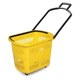 Wholesale high quality plastic supermarket shopping basket