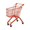 Supermarket funny and colourful toy supermarket shopping cart
