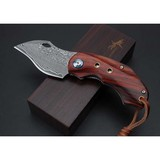 Hand made Quality Damascus folding knives