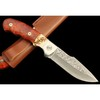 Damascus knife fixed blade Hunting knife