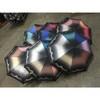 52cmx8k 5 fold manual open rainbow umbrella