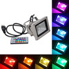 RGB LED Flood Lights with Remote Control