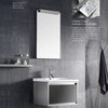 SUS304 stainless steel bathroom cabinet with black color