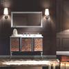European Style stainless steel bathroom cabinet vanity