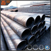 Large diameter high strength sprial welded thin wall hollow steel pipe steel tube price construction project