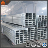 Hot dip galvanized hollow section square and rectangular steel pipe tube price schedule 40
