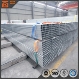 Pre galavnized shs rhs hollow section steel pipe q195 40x80 rectangular steel tube rigid light steel structure