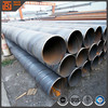 Round pipe size spiral welded structure carbon steel pipe spiral steel welded agriculture water pipe