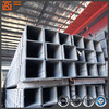 Hollow section tube tensile strength rectangular steel erw pipe and tube suppliers from china