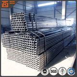 Q345 steel pipe for structure retangular hollow section erw carbon square steel pipe astm gr.b
