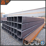 Shelf erw rectangular hollow section profile shs black steel pipe for furniture from china manufacturer