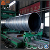 ASTM a53 spiral steel pipe, oil and water pipes, spiral seam 18 inch welded steel tube