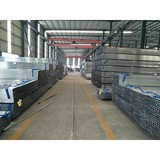 factory suppliers of galvanized square tube din en 10210 rectangular steel pipe
