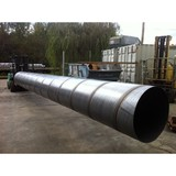 dn 1800 large diameter welded spiral steel pipe big diameter steel pipe anti corrosive coating dia 24 inch steel pipe