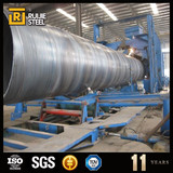 ms welded spiral steel pipe carbon welded black spiral tube stc astm a572 gr.b spiral welded steel pipes