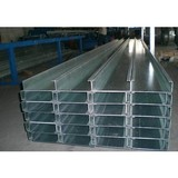 cold rolled galvanized steel channel custom cold rolled c channel factory supply q235b slotted steel c channel