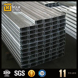 competitive price c channel din standard st37-2 steel channel european advanced structural steel sections