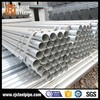 Galvanized round steel pipe schedule 40, 48.3mm galvanized tubes