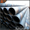 Big diameter steel pipe anti corrosive coating, 10 mm thick helical welded steel pipe, api 5l spiral welded steel pipe