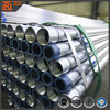 Galvanized/Hot dipped Galvanized steel pipe, GI pipes, BS 1387 galvanized tube large quantity in stock