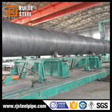 api 5l x42 spiral steel pipe black spiral pipe carbon steel 720mm spiral welded pipes